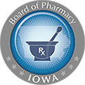 Iowa Board of Pharmacy Logo