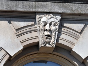 Meet the grotesque faces on the Polk County Courthouse